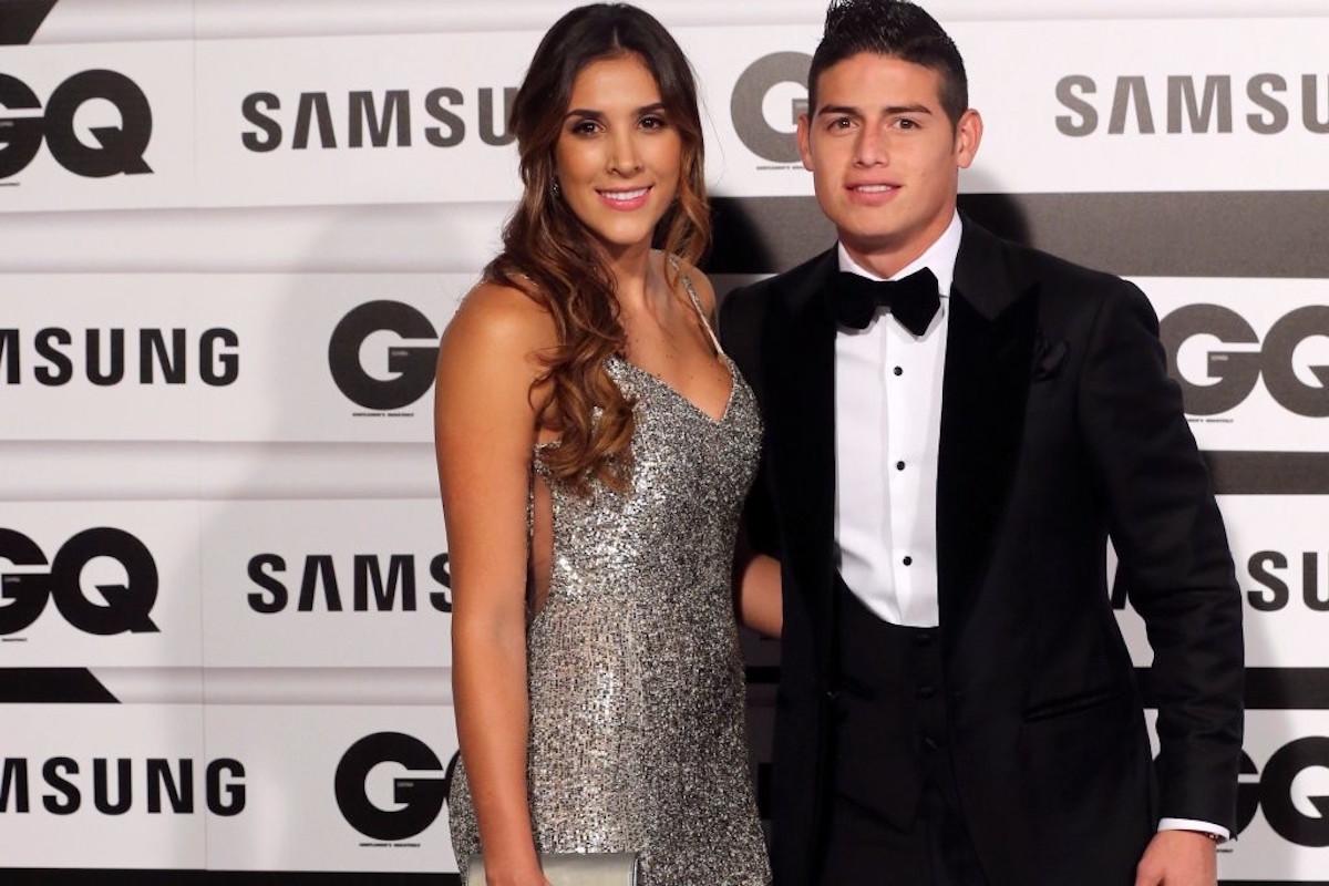 James Rodríguez (futbolista) y Daniela Ospina (voleibolista). Foto: Especial