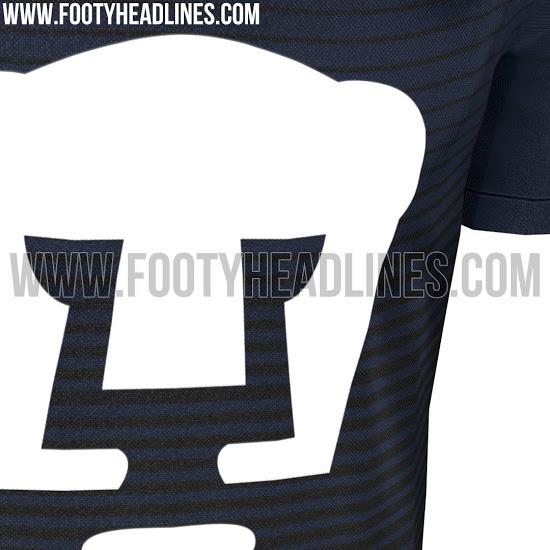 Posible tercer uniforme de Pumas. Foto: footyheadlines.com