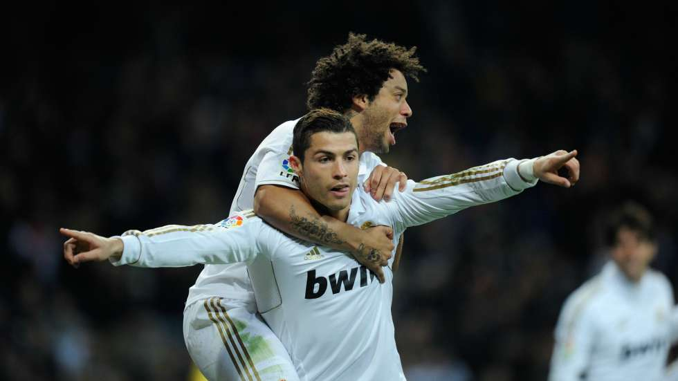 Marcelo y Cristiano, Foto: Especial