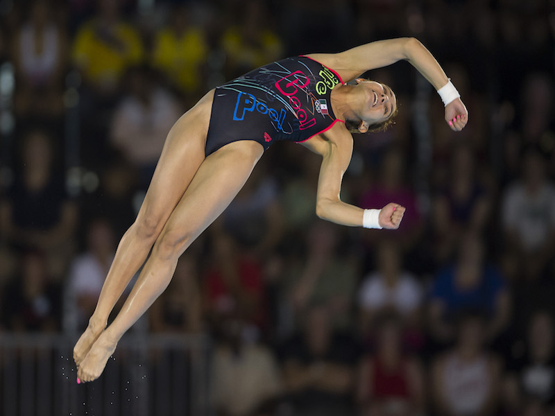 Paola Espinosa. Foto: Mexsport