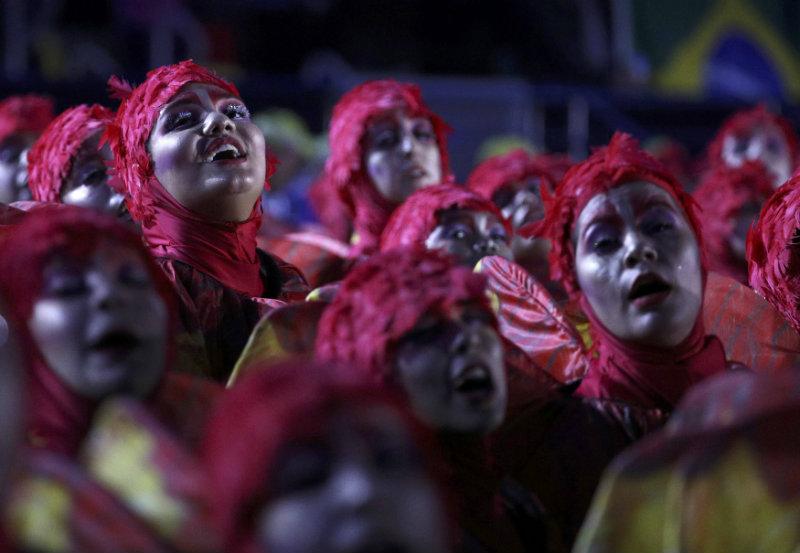 Ceremonia clausura. FOTO: REUTERS