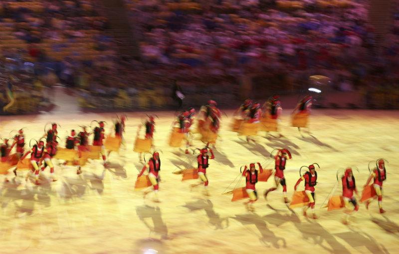 Ceremonia de Clausura. FOTO: REUTERS