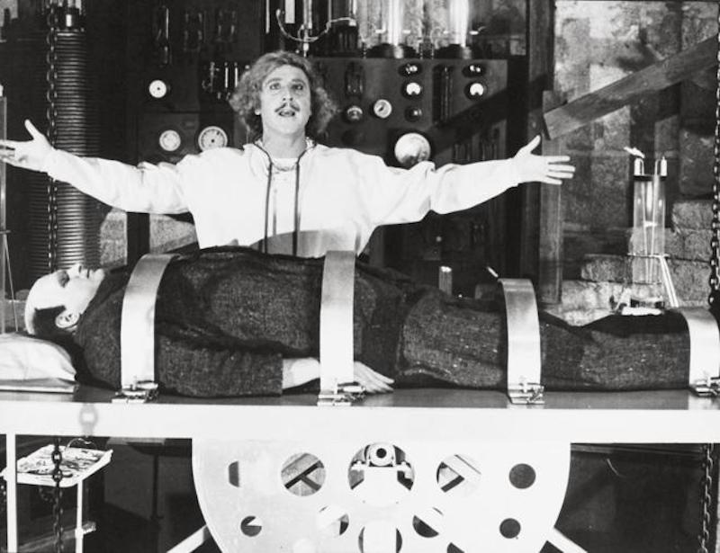 Gene Wilder en 'El Joven Frankenstein'. Foto: Especial