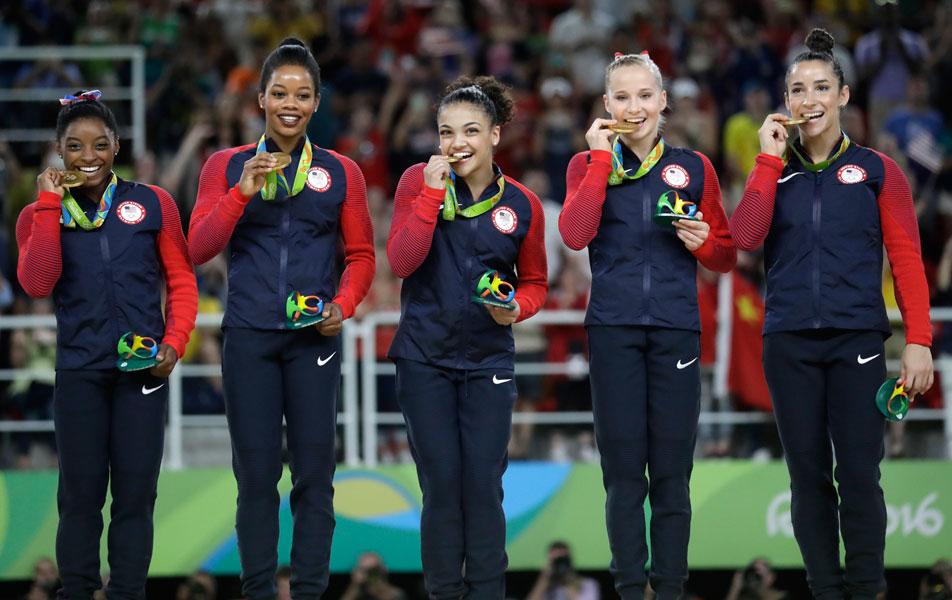 Estados Unidos domina la gimnasia