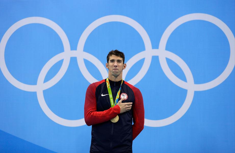 Michael Phelps en la prueba más desafiante