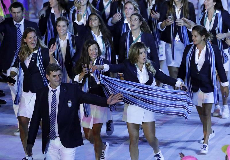 Los atletas de Grecia