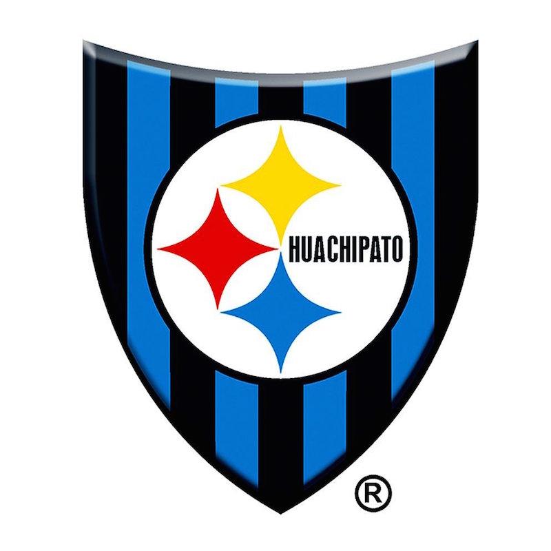 ¿Escudo de los Steelers?, no, del Huachipato. Foto: Especial