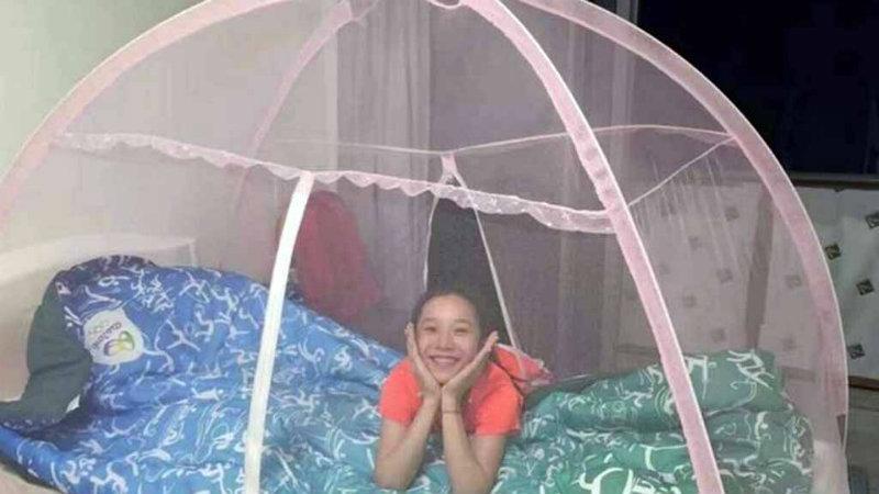 La cama de las gimnastas chinas, Foto: Especial