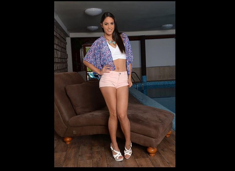 Carolina Abril, la actriz porno enamorada de Andrés Iniesta. Foto: Especial