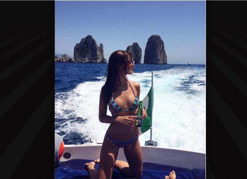 Desiré Cordero, modelo española. Foto: Instagram @desirecordero