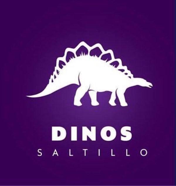 Logo de los Dinos de Saltillo. Foto: Especial