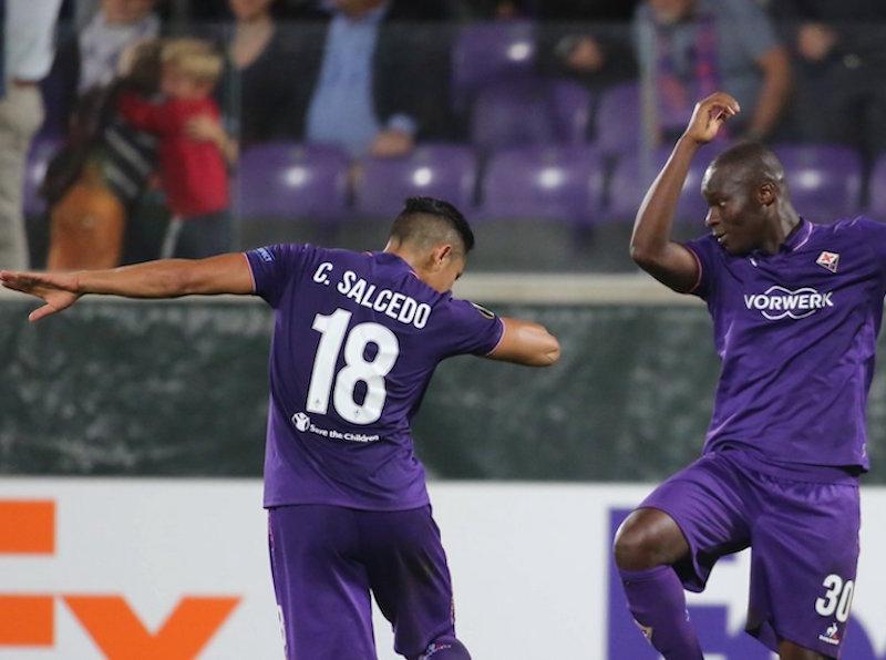 Salcedo y la Fiore golean en la Europa League