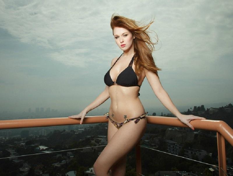 Leanna Decker, sexy modelo y fan de la NFL. Foto: Especial