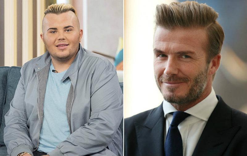 Se opera para parecerse a Beckham