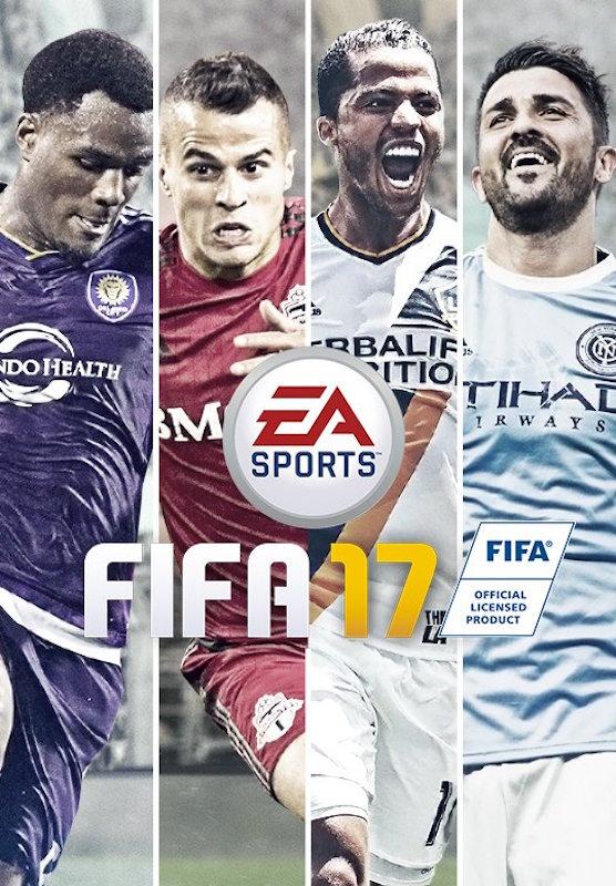 Portada del FIFA 17 para su edición de EU. Foto: Especial