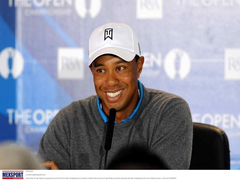 Tiger Woods no estará en el Safeway Open