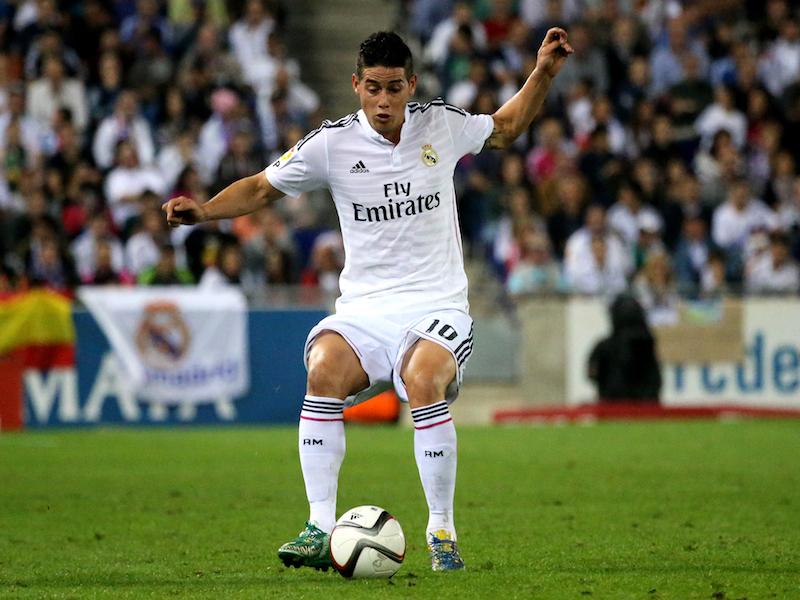 James Rodríguez regresa al Madrid
