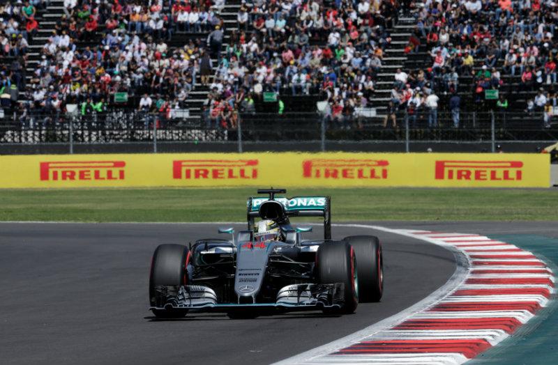 Hamilton, el más rápido en el Hermanos Rodríguez