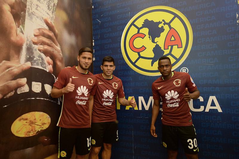 Bruno Valdez, Silvio Romero y Renato Ibarra, refuerzos para el Apertura 2016. Foto: Mexsport