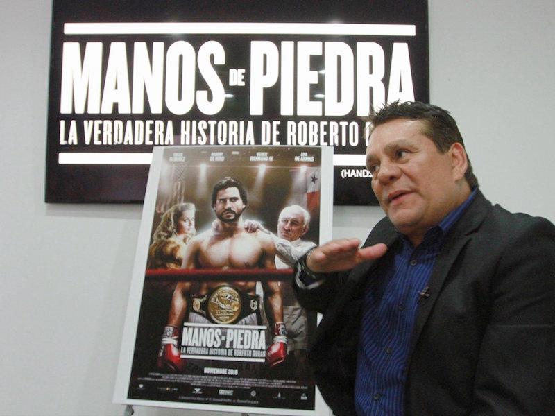 Roberto 'Manos de piedra' Durán. Foto: Notimex