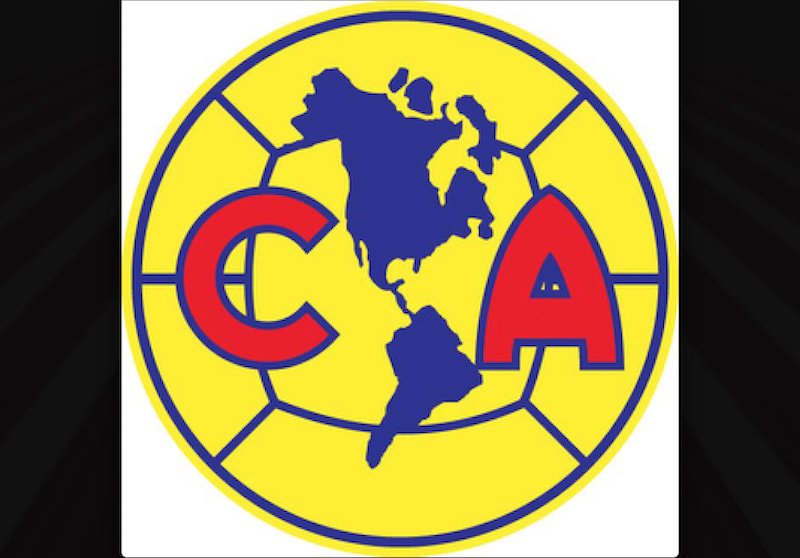 El cuarto escudo surge en la década de los 50's. Un círculo y gajos que simulan un balón amarillo, con el continente americano de fondo y las letras C y A al frente en rojo, es el escudo actual, con algunas modificaciones mínimas en el diseño.