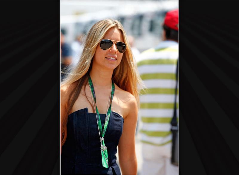 Vivian Sibold pareja Nico Rosberg. Foto: Especial