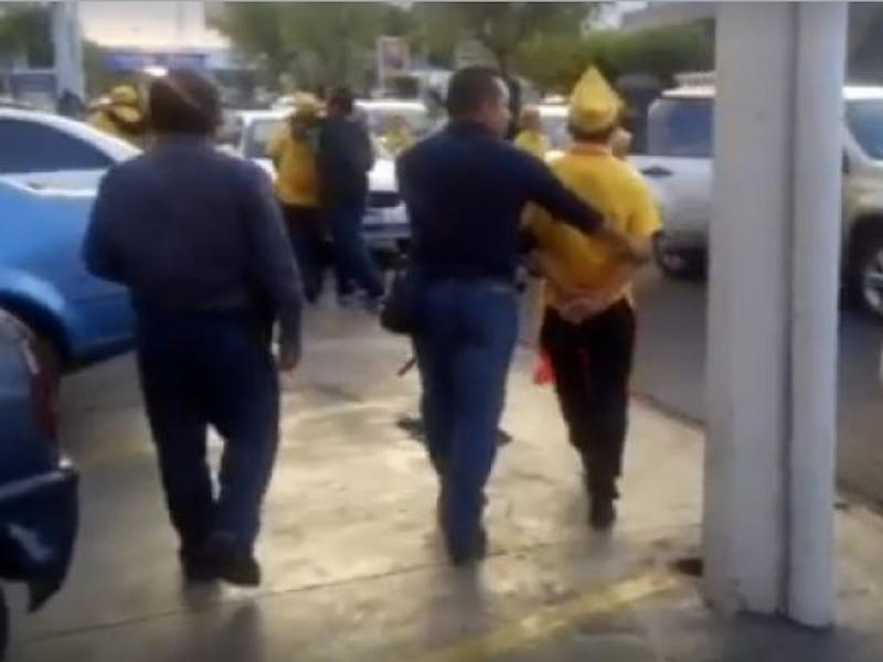 Imagen tomada del video original de Quadratín Querétaro.