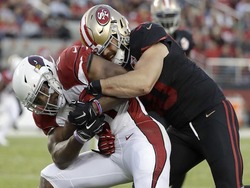 Cardenales de Arizona derrotan a 49ers de San Francisco