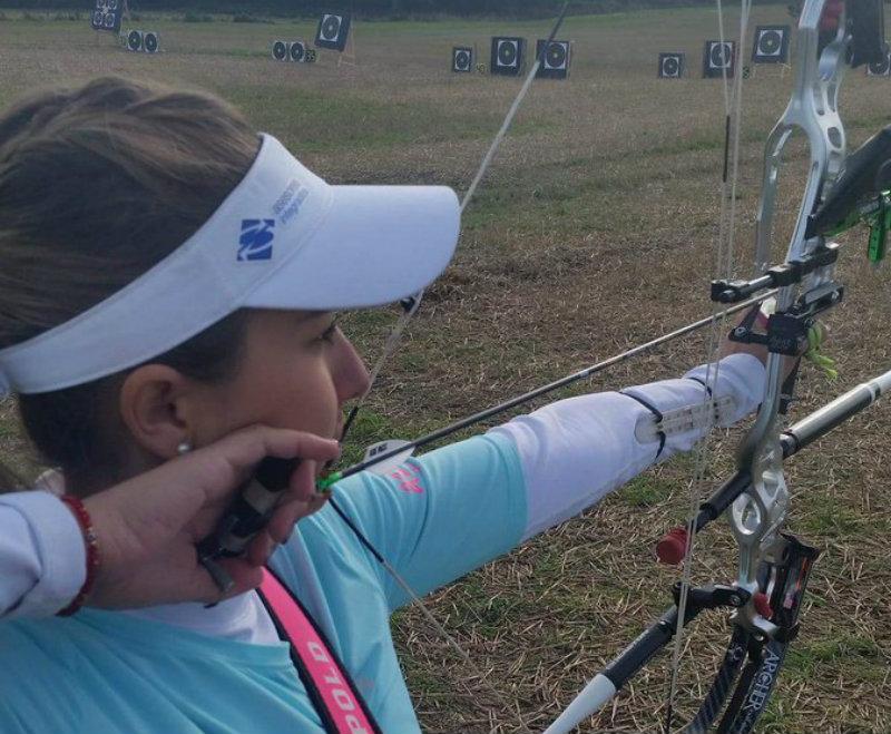 Linda Ochoa, plata en Mundial de Tiro con arco