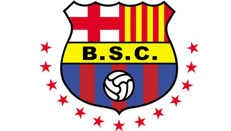Barcelona de Guayaquil tiene el mismo escudo y nombre que el Barcelona de Messi. foto: Especial
