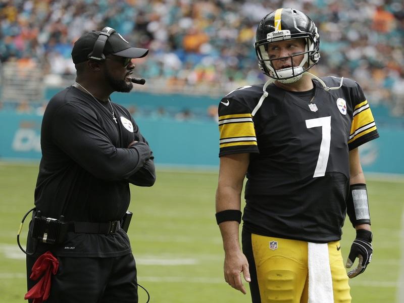 Pittsburgh, preocupado por la lesión de Roethlisberger
