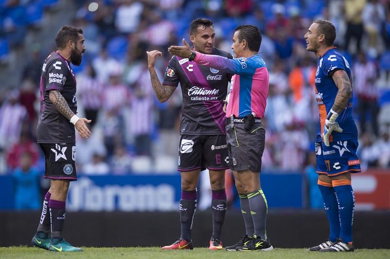 Puebla sufrió una expulsión. Foto: Mexsport