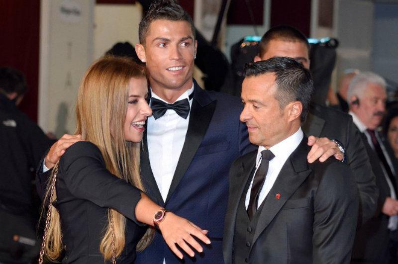 Hija de Jorge Mendes 'prende' las redes de Cristiano