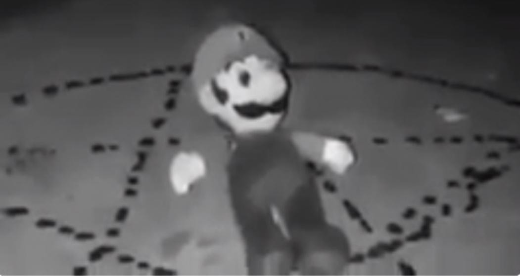 Video de Mario Bros poseído