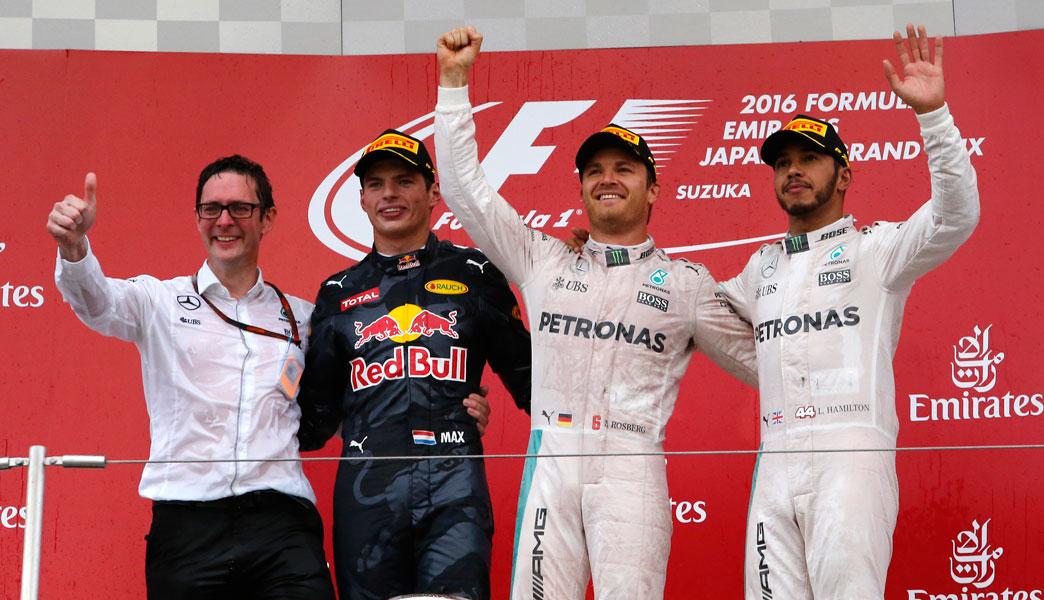 Rosberg se acerca al título