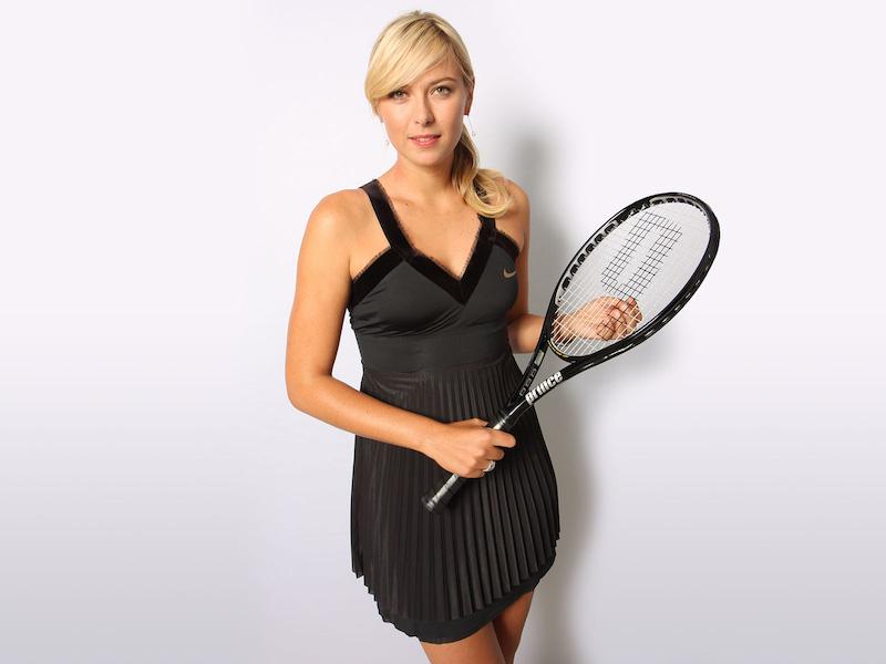 Sharapova vuelve para jugar en un torneo
