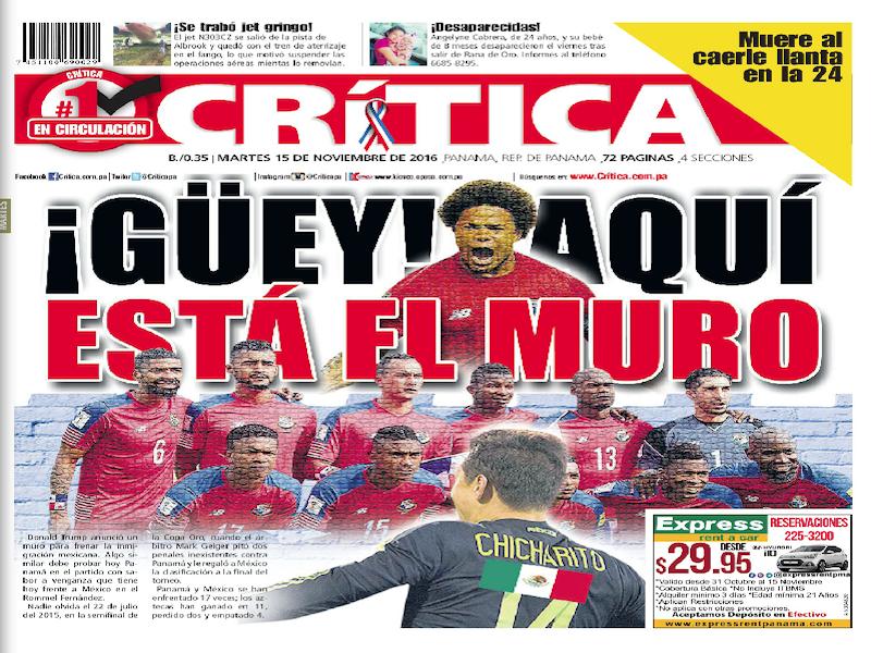Diario Panameño Se Burla De México Estadio Deportes