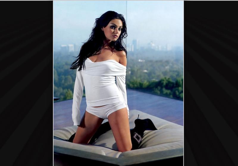 Mila Kunis. Foto: Especial