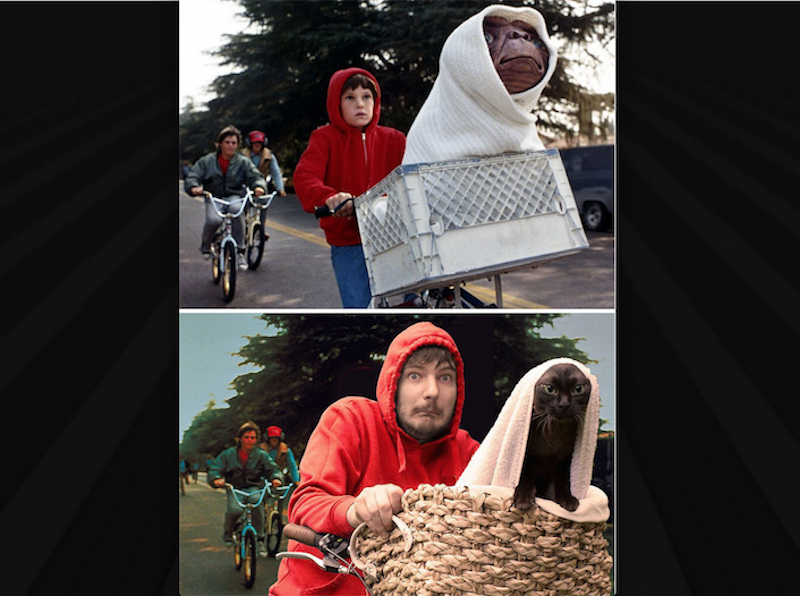 E.T. El Extraterrestre. Foto: moviecats