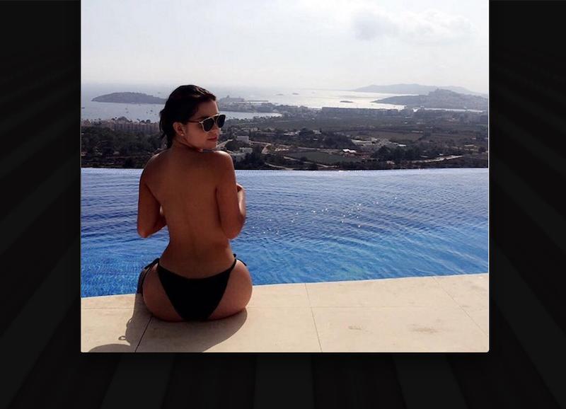 Demi Rose, la bella británica que ha conquistado Instagram. Foto: Instagram @demirosemawby