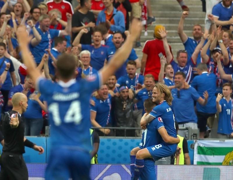 Islandia llegó a los cuartos de final la pasada Euro. Foto: AP