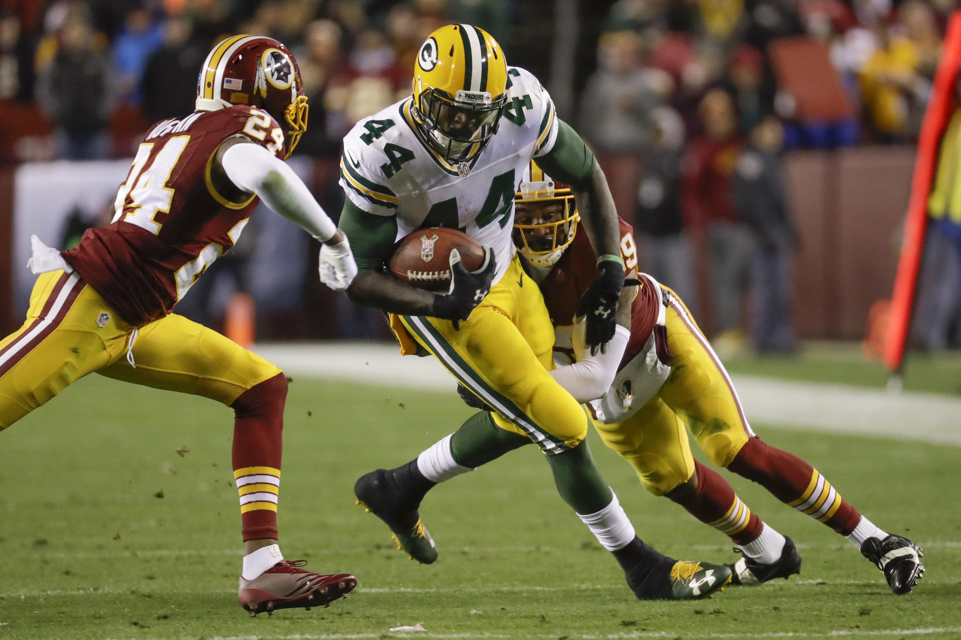 Redskins propinan paliza a Packers