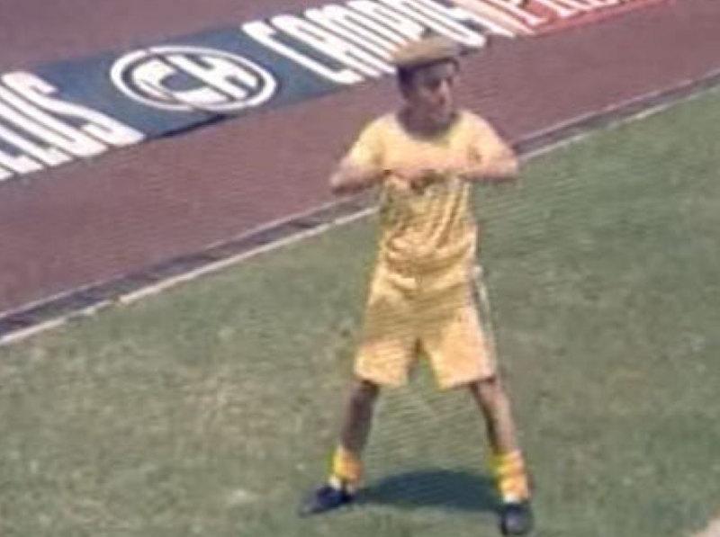 Roberto Gómez Bolaños en su papel de 'El Chanfle'. Foto: Especial