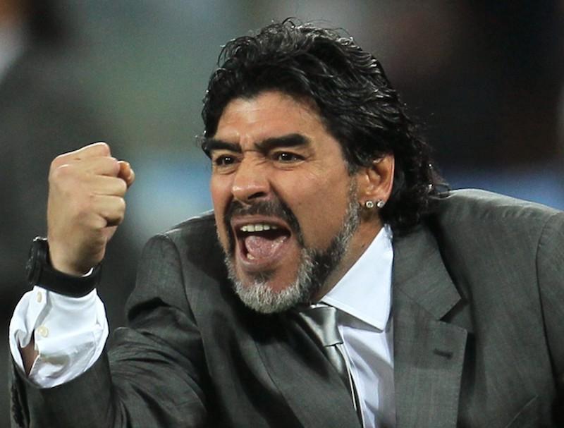"""""""México no merece el Mundial"""", Maradona"""