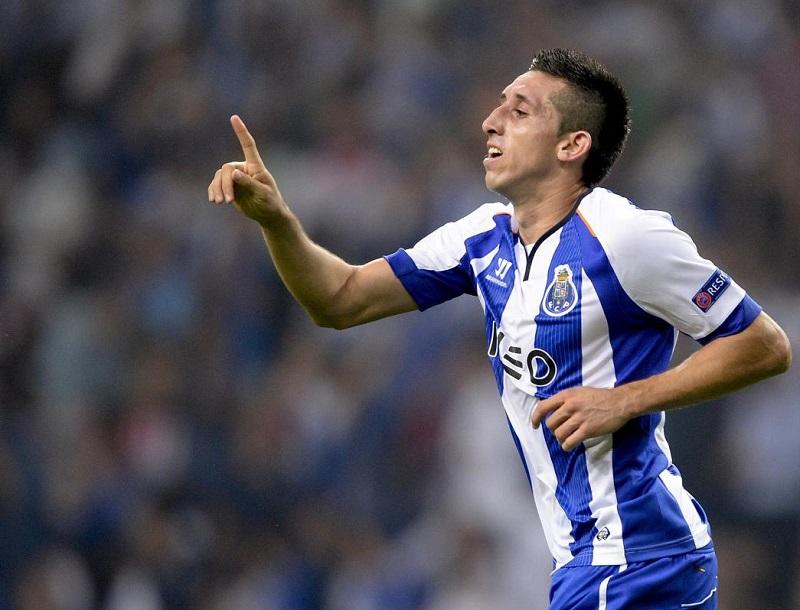 Héctor Herrera es nominado al mejor once de Portugal