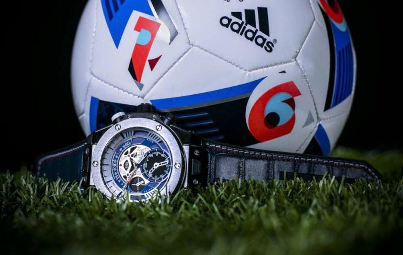 Reloj Big Bang de Hublot de lujo entregados en la Euro 2016. Foto: Especial