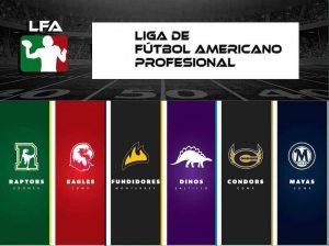 Regresa la Liga de Futbol Americano Profesional con seis equipos