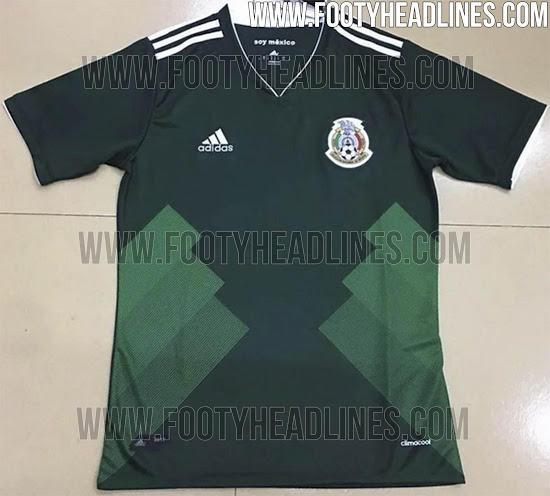 Filtran playera de local del Tri para Confederaciones - Estadio Deportes 00396ca5c03fc