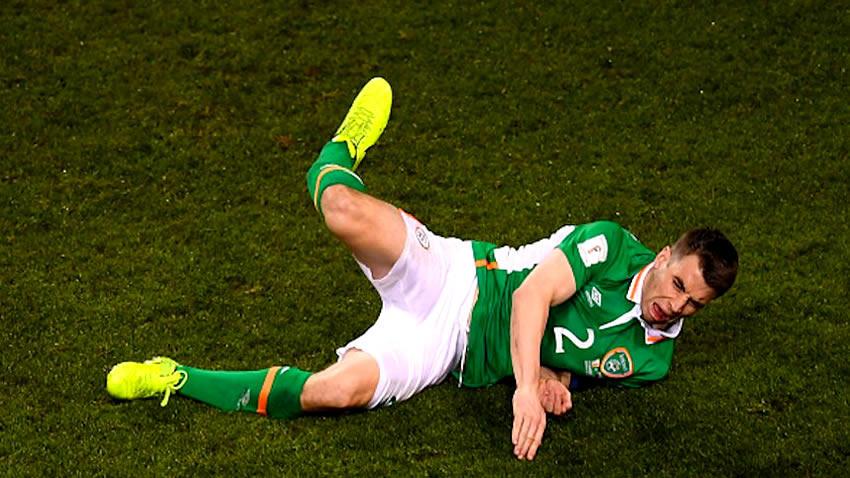 Impresionante fractura de jugador del Everton