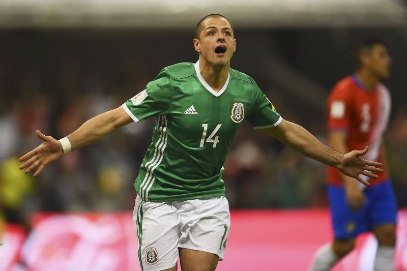 'Chicharito' visualiza a México en la final de Rusia 2018